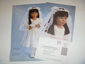 1998 Georgetown Collection First/1st Communion Doll Tama Ad Page/Advertisement