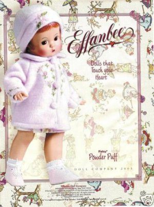 2003 Effanbee Patsy Powder Puff Doll Ad/Advertisement