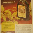 1959 Watkins(Winona MN)Products Vanilla Ad~Colonial Dessert Sauce Recipe~Orchids