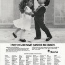 1986 Vintage Sasha & Gregor Danced till Dawn Doll Ad