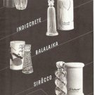Lucien Lelong Indiscrete,Sirocco Etc Perfume Bottle Ad