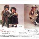 1994 Lenci Giole,Nadia,Melanie,Valentina Dolls Ad