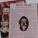 1996 Betty Boop Comic-Strip Dolls Article/Pics/Info