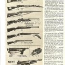 1957 Popular Toy Cowboy Guns Ad~50s Hubley,Kadet,Parris,Dragnet Cap Gun,Mattel