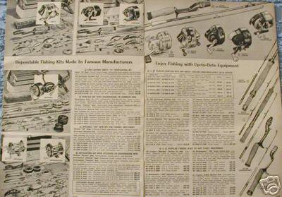 1958 Fishing Rods Reels Ad~Zebco/Shakespeare/Pflueger