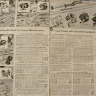 1958 Fishing Rods Reels Ad~Zebco/Shakespeare/Pflueger