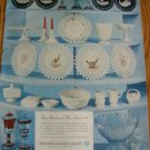 1957 Westmoreland Glass Ad~ Grapeville PA