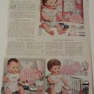 1957 Vintage American Character TINY TEARS Doll/Accessories Catalog Ad Pg~1950s