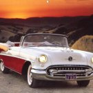 1955 Oldsmobile Super 88 Convertible Calendar Print Page~Would look great framed