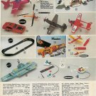 1970s Vintage Cox Engine-Powered,Stanzel Battery,Mattel Etc Model Planes Ad Page