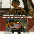 1981 Tonka (Mound MN) Mudslinger Off-Road Racer Toy Truck Ad Page Advertisement