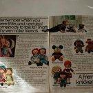 1978 Vintage Kinickerbocker Ad~Holly Hobbie~Raggedy Ann~Sesame Street~Annie Etc