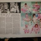 1958 Vintage Ideal Betsy Wetsy,A.C. TINY TEARS,Horsman Doll Catalog Ad Pgs~1950s