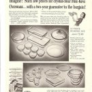 1954 FIRE KING Glassware/Ovenware Ad~Lancaster Ohio~50s