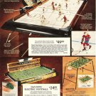 1973 Family Cup Hockey Electric Football Table Games Catalog Ad Page~1970s