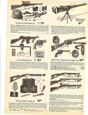 1975 Toy Guns Ad~Daisy Pirate Blunderbus Etc Rifle, POA