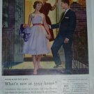 1960s Bell Telephone Rates Ad~Her First Prom~Gentleman