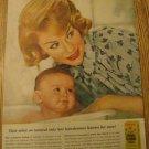 1961 Miss Clairol Hair Color Bath Haircoloring Ad