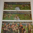 1962 Ad~Boy Scouts in Uniform Playing Tug of War & drinking Coca Cola/Coke~Ughhh