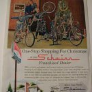 1960s Schwinn Bicycles Ad~Fastback,Exerciser,10-Speed