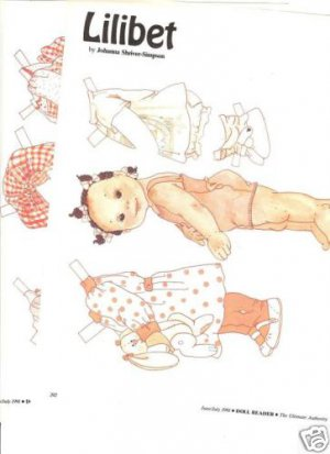 '91 Lillibet Paper Doll Pgs by Johanna Shriver-Simpson