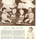 1948 Vintage Catalog Ad for Effanbee DY-DEE/DYDEE and Ideal Magic Skin Baby Doll