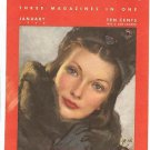 1/1938 McCALL'S COVER~Lady in Fur Coat by Neysa McMein