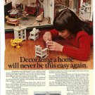 '74 Ethan Allen Galleries Ad~Doll House Furniture Pictd