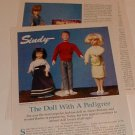 1990 Vintage Article/Pics/Information on Pedigree Sindy Teen-Age Fashion Doll