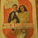 1947 Cigarette Ad~ Perry Como,Jo Stafford~Singing Stars