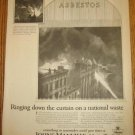 1920s Johns-Manville Asbestos Roof Roofing Ad~1926