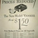 1926 Ingersoll Watch Ad~Yankee,Eclipse,Midget,Waterbury