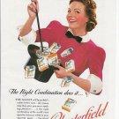 1930s Cigarette Ad ~ Lady Magician-Magic Theme~Top Hat