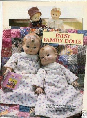 '90 Effanbee Patsy Doll Article/Info~Skippy Patsy Pic