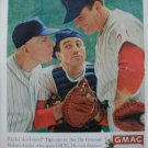'61 GMAC Payment Plan Ad~Baseball Coach/Pitcher/Catcher