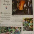 Western Electric Ad~Melting Scrap into Brass Ingots~Smelting Plant,Staten Island