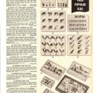 50s Vintage Fishing Lures/Flies Ad~Trout,Bass,Pan Fish