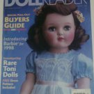 1998 Doll Reader Magazine Cover Page picturing 1950s Vintage Ideal Toni Doll
