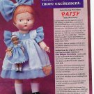 1996 Effanbee Patsy w/Wee Patsy Doll Ad/Advertisement