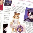 1995 Madame Alexander Doll Article/Pics/Info~Special Pleasures,Special Treasures
