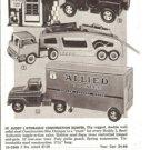 1964 Vintage Toy Trucks Ad~ Buddy L,Structo,Tonka,Enco Magic Gas Pump~1960s