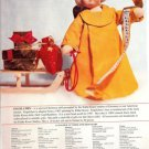 1997 KATHE KRUSE Engelchen Cloth Christmas Doll Ad/Advertisement Page~Sooo Cute!