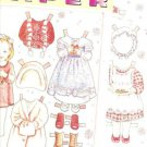 1996 Magazine Paper Doll & 5 Cute Outfits by Yuko Green
