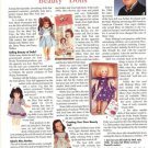 2001 Vintage Article/Information on Ideal Toni,Revlon Etc Advertising Dolls