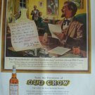 Whiskey Print Ad~Gen.John Hunt Morgan,Thunderbolt of Confederacy~Frankfort KY