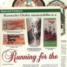 Article/Info on Kentucky Derby Memorabilia/Souvenirs