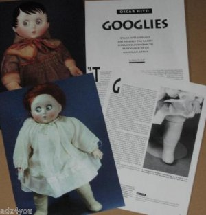 Article/Pics/Info on GOOGLIES/GOOGLY Bisque Dolls