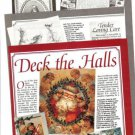 Article on Vintage Christmas Holiday Greeting Cards