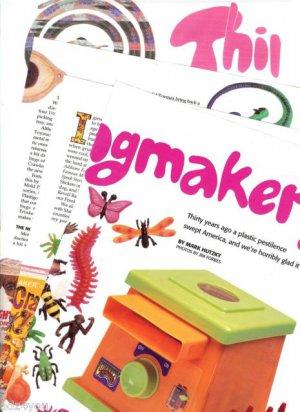 Article/Pics/Info on 1960s Vintage Mattel Thingmaker Toys