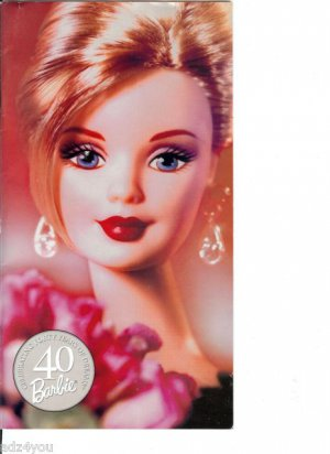 Barbie(Celebrating 40 Yrs) Collectibles Doll Catalog w/Chatty Cathy Repro Ad Pgs